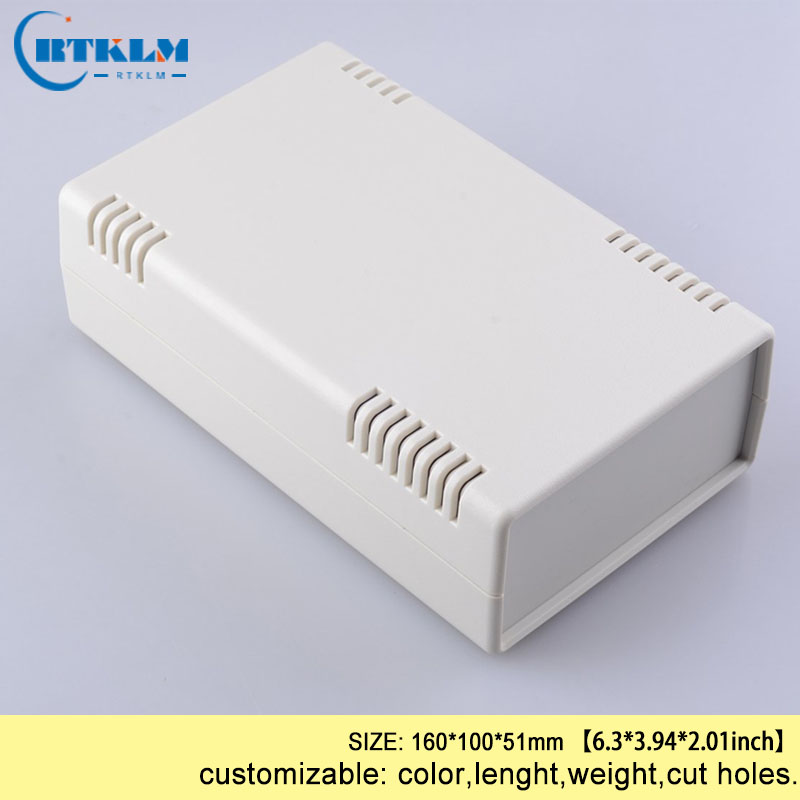 Plastic Instrumen Case DIY Electric Plastic Project Box Abs Plastic Enclosures For Electronics Junction Box 160*100*51mm 1piece