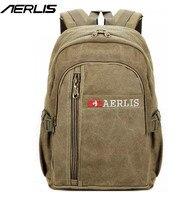 Men Women Canvas Backpack Casual College Travel Sport Rucksack For Man Quality Laptop Shoulder Bags LM507