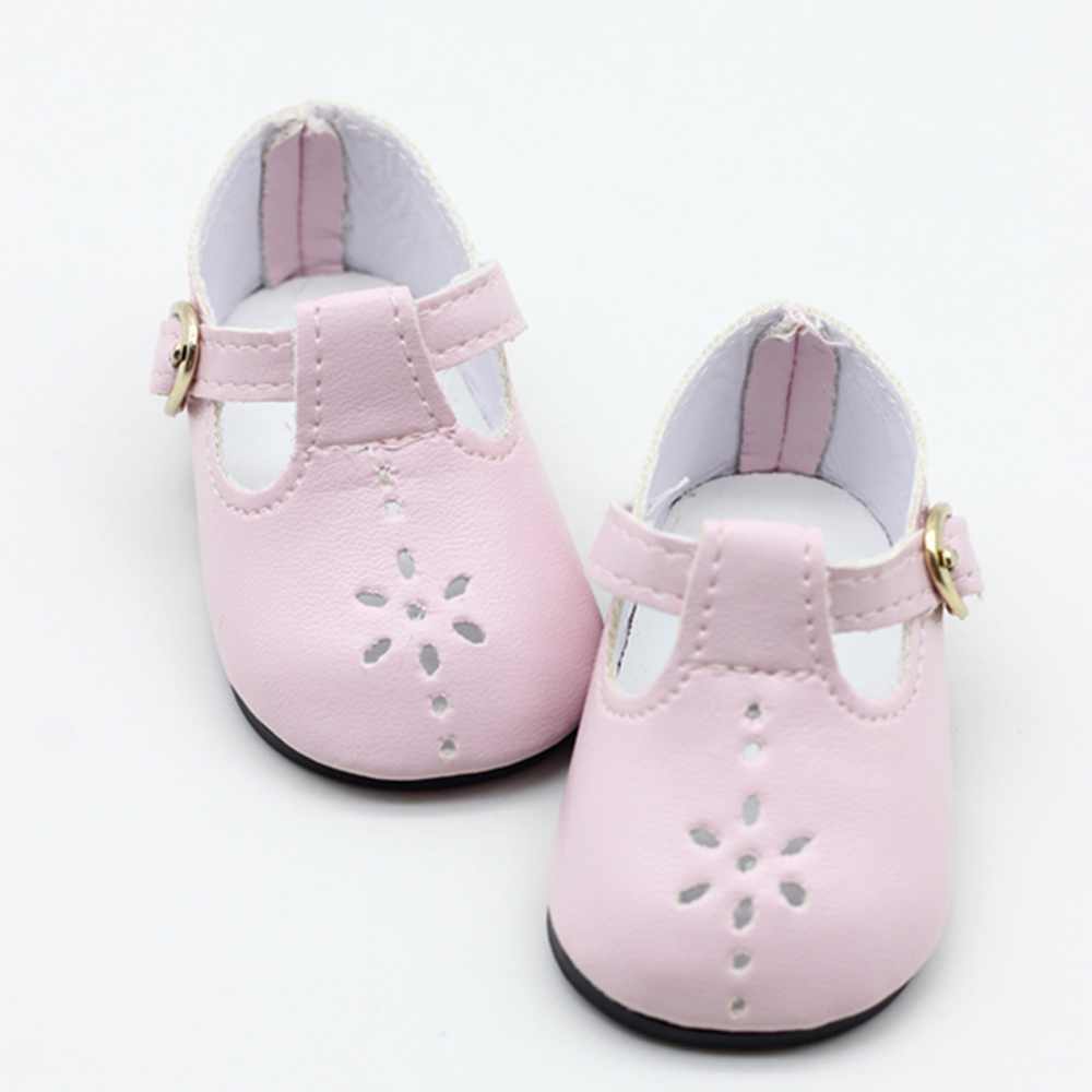 Baby Doll boots for 43cm new baby Doll Shoes fits For 18inch girl Doll shoes Boots Doll Accessories(China)