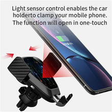 XUNMA  Qi Car Wireless Charger For iPhone Xs Max Xr X Samsung S10 S9 Intelligent Infrared Fast Wirless Charging Car Phone Holder plamtee casual hoodies sweatshirt women harajuku hooded hoody letter oversize hoodie kpop loose pullover thick warm tracksuit