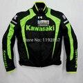Envío libre KAWASAKI motocicleta chaqueta de invierno chaqueta chaquetas de carreras impermeable Oxford chaquetas de la motocicleta