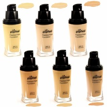 1PC Whitening Foundation BB Cream Concealer Brighten Liquid Shimmer Highlight Make Up Face Concealer 30ML A2