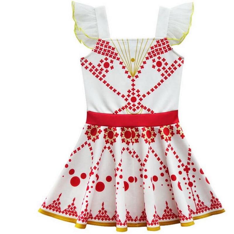 Tonlinker Princess flickor ballett dansande klänning flygande ärm - Maskeradkläder och utklädnad - Foto 2
