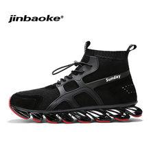 newest 43539 2b079 JNBAOKE Nuovo Stile Lama Runningg Scarpe per Gli Uomini Traspirante Slip-On scarpe  Da Ginnastica Atletica All aperto Alla Moda A..