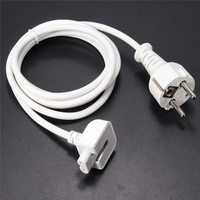 Hot 1PCS 1 8m US EU AU UK Plug Extension Cable Cord Charger Adapter For MacBook