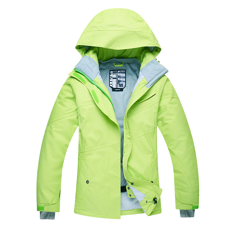 ФОТО NEW model High Quality Women Ski Jacket Snowboarding Solid color Warm Waterproof Windproof Breathable Skiing Jackets Clothes