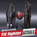 New Star Wars serie de Primer Orden de Las Fuerzas Especiales TIE fighter modelo Bloques de Construcción Juguetes Clásicos Regalos compatible Lepin 75101