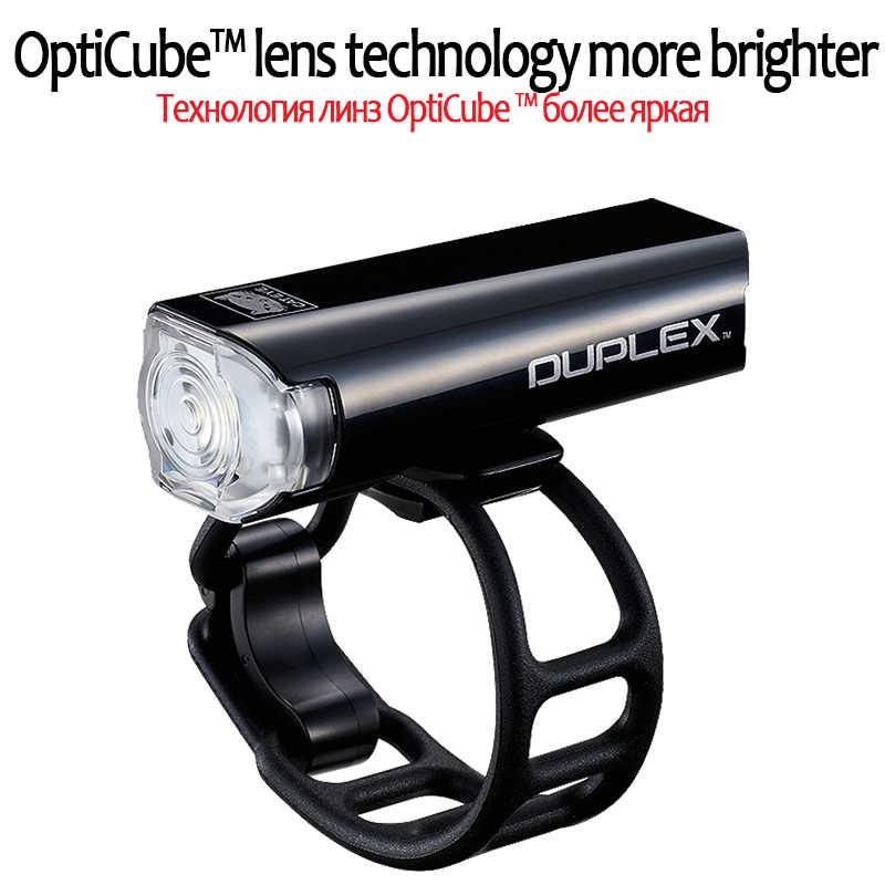 Велосипедный фонарь CATEYE, Передний фонарь, светодиодный фонарь заднего света, нашлемный фонарик, со встроенным Tallight, фонарь, фонарик для велосипеда
