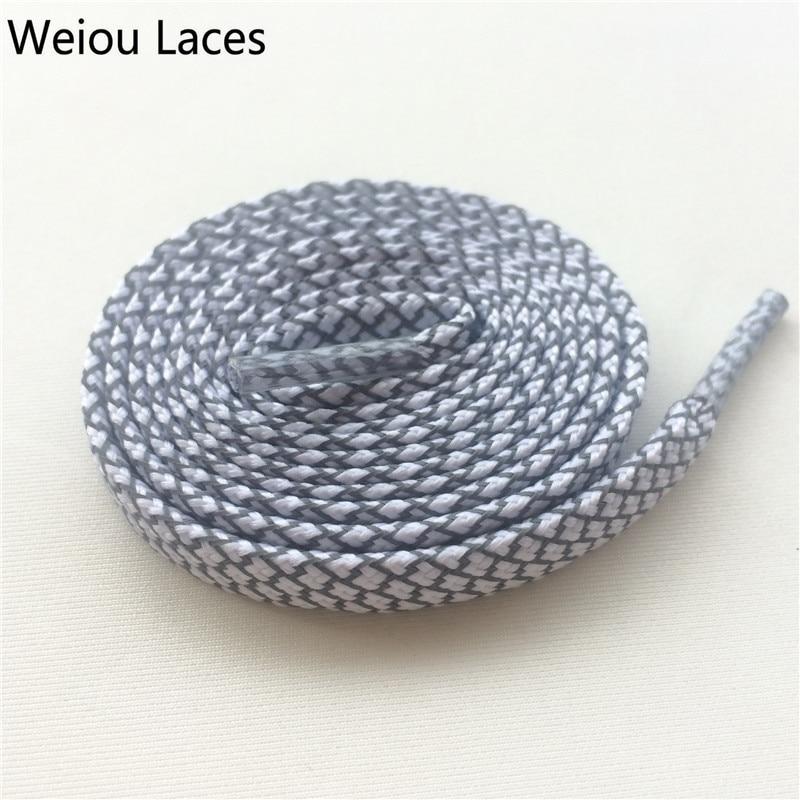 Offizielles Weiou New Flat 3M Reflektierende Schnürsenkel Runner - Schuhzubehör - Foto 3