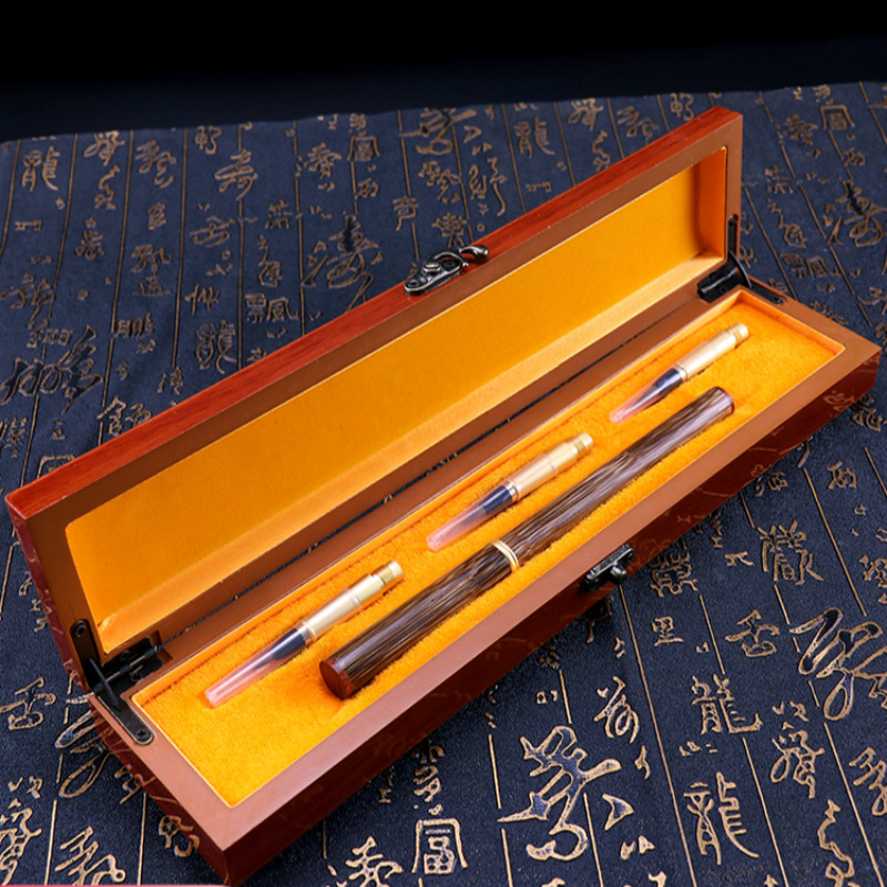 Upscale Weasel and Rabbit Multiple Hairs Chinese Calligraphy Brush Pen Writing Drawing Brush Chinese Painting Brush Gift Box SetUpscale Weasel and Rabbit Multiple Hairs Chinese Calligraphy Brush Pen Writing Drawing Brush Chinese Painting Brush Gift Box Set