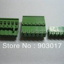 6 шт. в партии 5.08A 5,08 мм угол 6-контактный винтовой клеммный блок разъем подключаемый Тип горячая распродажа высокое качество