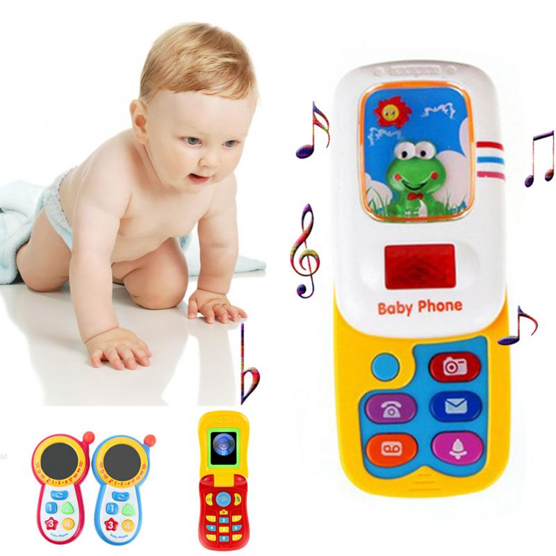 Baby toys with sound and light music phone Learning Study Baby cell phone toys