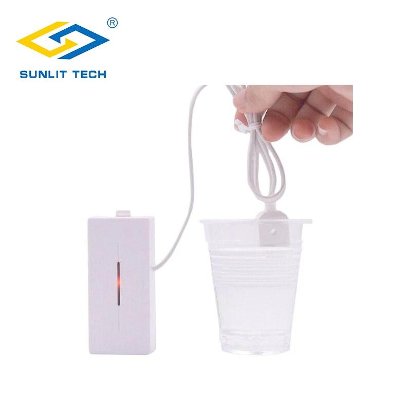 1/3/6/10 Stücke Drahtlose 433 Mhz Wasser Leckage Sensor Flut Überlauf Wasser Undicht Sensor Erkennung Für Home Smart Küche Sicherheit Harmonische Farben Sicherheitsalarm Sensor & Detektor