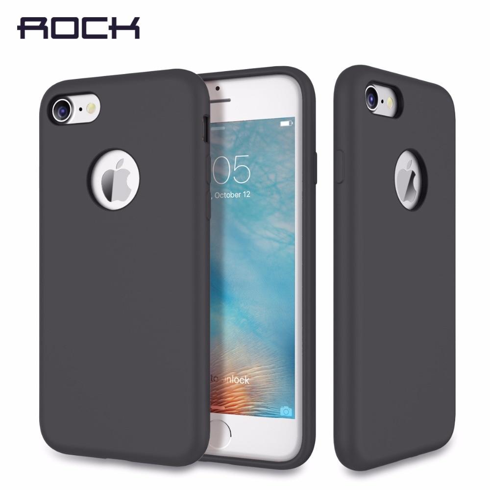 bilder für ROCK Silikon Fall für iPhone 7/7 Plus Anti Schock Schutz Telefon Fall für iPhone7 abdeckung