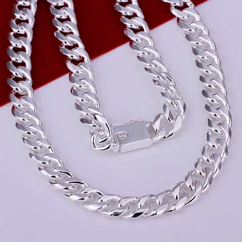 10mm 20 24 heavy cuban curb chain mens necklace fashion men 10mm 20 24 heavy cuban curb chain mens necklace fashion men jewelry silver 925 mens brazilian chains necklaces in chain necklaces from jewelry mozeypictures Choice Image