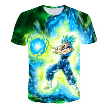 2018 anime Dragon Ball Z T-Shirt super saiyan T shirt Goku Dragonball Unisex Tshirt All Sizes Funny Casual Brand Shirts Top tees