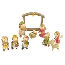 キリスト降誕のカントリー装飾装飾ギフトクリスチャンイエス装飾慈悲イエス