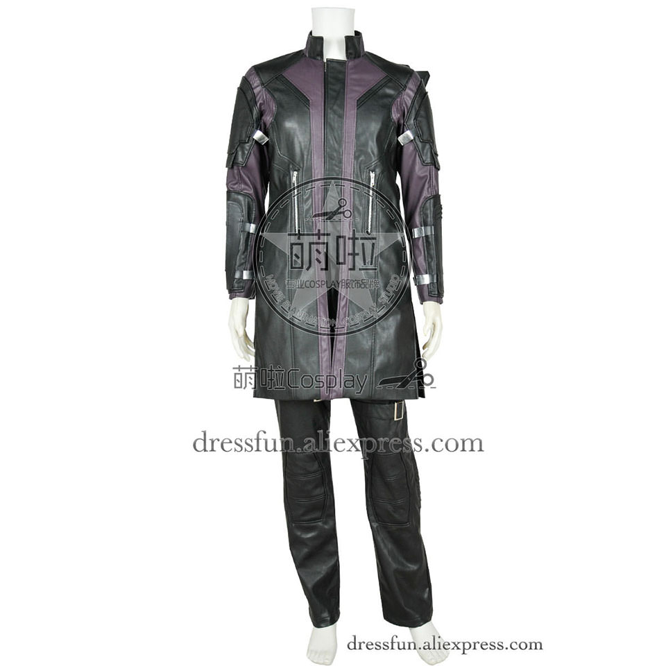The Avengers Age Of Ultron Cosplay Clint Barton Hawkeye Costume New Uniform Abiti di Halloween Del Partito di Modo Trasporto Veloce