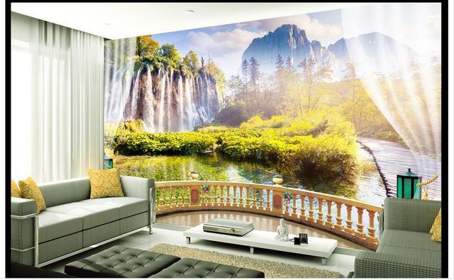 Fototapete 3 D benutzerdefinierte 3d fototapete 3d wandbilder wallpaper für