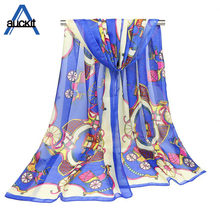 2018 New Fashion Printed Scarf Women's Classic Thin Scarf Beach Towel Korean Shawl Autumn And Winter Scarf Shawl SD-100(China)