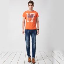 Джинсы Мужчин Мужские Homme Бренд-одежда мужская Тощий