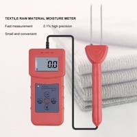Professional Ms C Textile Moisture Meter Measuring For Textile Materials,Clothes,Cotton,Yarm,Wool Moisture Meter Tester Ra