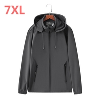 8XL 7XL 6XL 5XL 4XL 2018 New Spring Summer Mens Fashion Outerwear Windbreaker Men S Thin