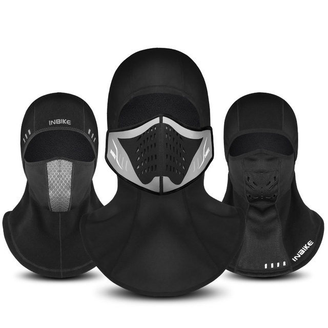 Thermal Fleece Winter Cycling Face Mask Neck Full Snowboard Shield Hat Ski Hood Helmet Cap Headwear Scarf Mask for Outdoor