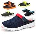 Homens sapatos de conforto respirável sandálias Buraco Verão homens sapatos 2016 sandálias da moda Verão quente dos homens