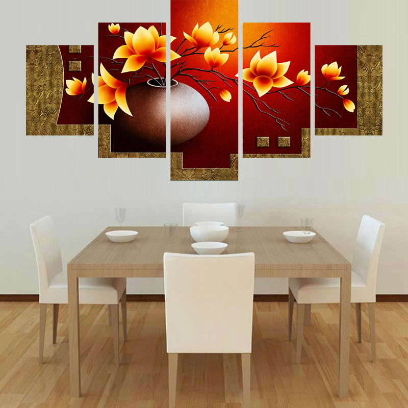 Home, Flower, Frame, Decoration, Wall, Painting