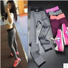 women coolmax running Jogging tights fitness yoga workout pants sports skinny leggings body building Training Dry Fit trousers
