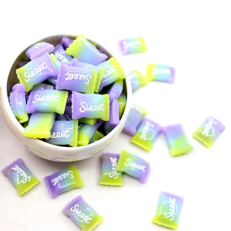 Slime charms 5Pcs Slime Charms Sweet Sugar Bead for Slime Toys Children Addition Modeling Clay 1