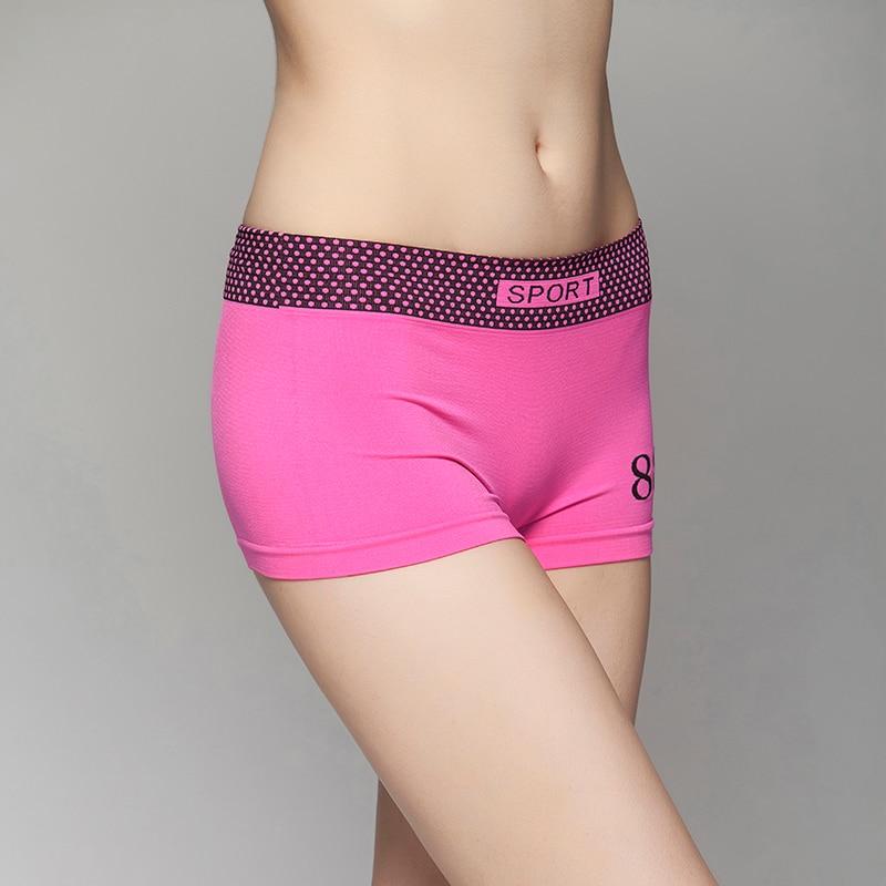 Brand Womens Boxers Bra Set Underwear Fitness Workout Briefs Bras Sets Intimates Seamless Tops Sexy Women Bra Vest Lingerie