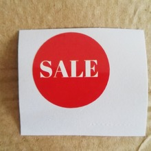 30 мм круглая распродажа бумажных наклеек для супермаркетов/ebay/amazon/AliExpress рекламных наклеек