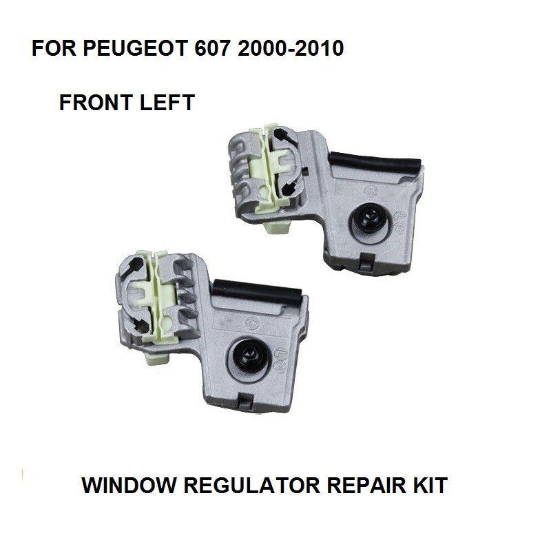 ELECTRIC WINDOW METAL CLIPS KIT FOR PEUGEOT 607 ELECTRIC WINDOW REGULATOR CLIP FRONT-LEFT 2000-2010