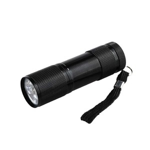 Image 3 - Mini 9LED UV Flashlight Ultraviolet led flashlight Ultra Violet Invisible Ink Marker Detection Torch Light 3AAA UV lamp