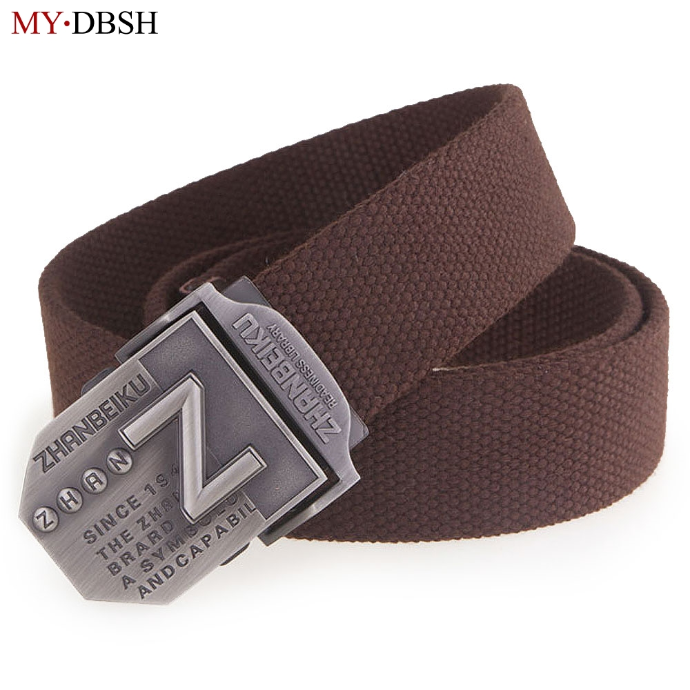 Have An Inquiring Mind 2019 New Arrival Thicken Belts For Men 140cm Canvas Belt Che Guevara Military Belt Metal Army Tactical Belt Men Strap Cintos Elegant In Smell