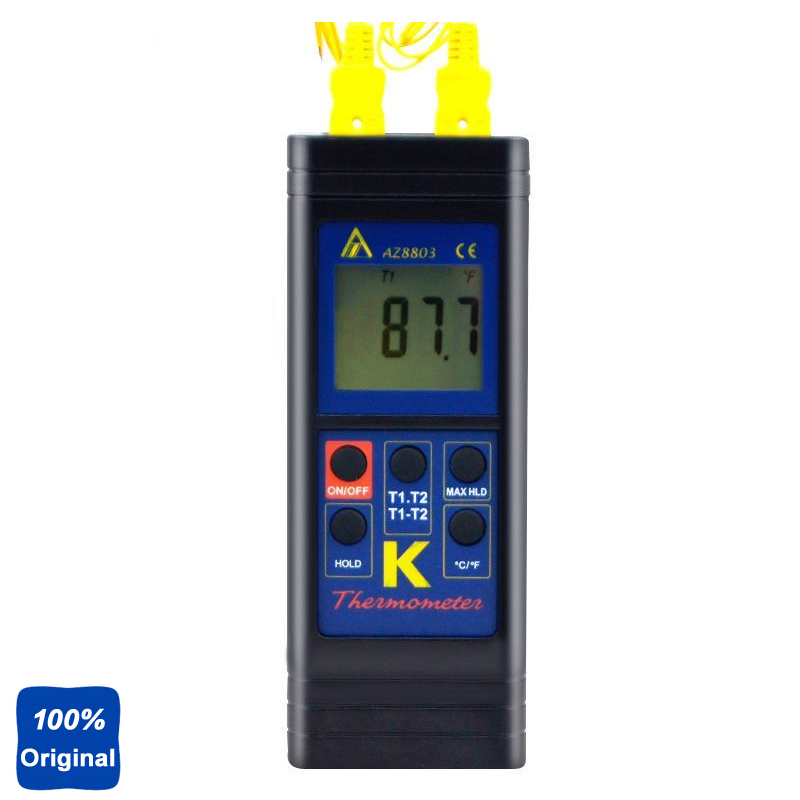 AZ8803 Digital Thermocouple Thermometer with Temperature range -50 ~ 1300 degree