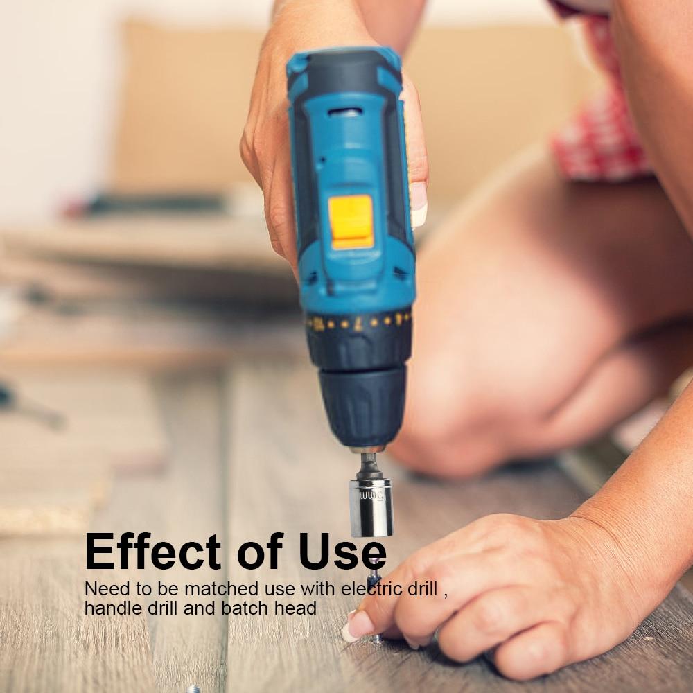 JelBo Drill Socket Adapter Set Tools Drill Bits Socket Wrench - Foret - Photo 5
