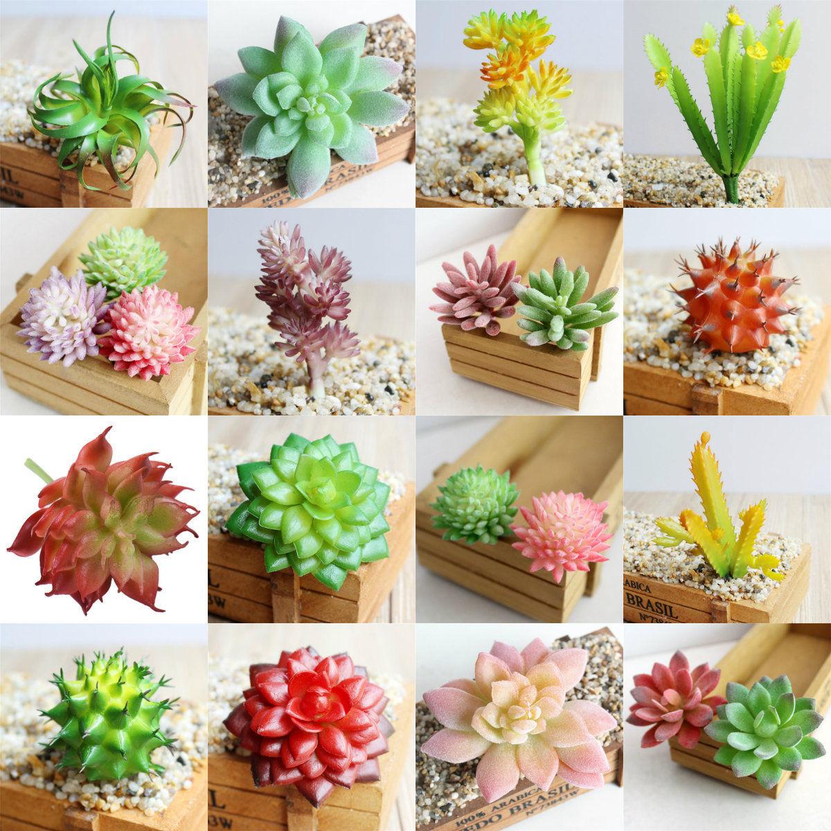 Aliexpress.com : Buy Artificial Succulents Plant Garden