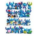 Regalo De Navidad de kawaii 24 unids Lilo Mini & Stitch interestelar bebé acción y figuras de juguete juguetes de la muñeca del regalo del bebé de mano decoración del hogar