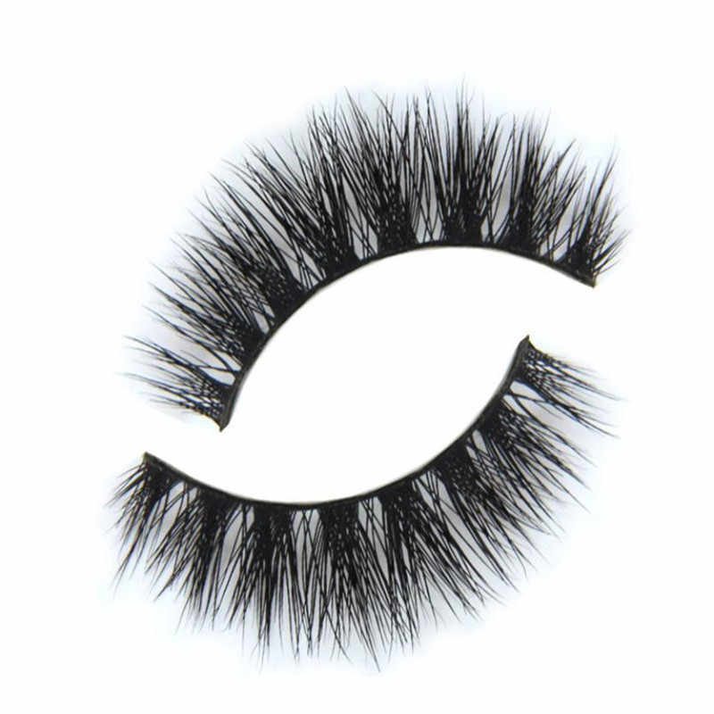 Dest Preis 3D Nerz Make-Up Kreuz Falsche Wimpern Wimpern Verlängerung Handgemachte Schwarze Falsche Wimpern Verlängerung Kosmetische Werkzeuge