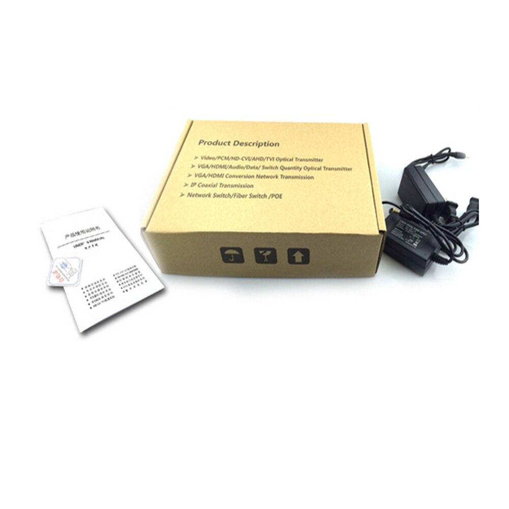 1080 P HD CVI AHD TVI 4 Kanal Video Fiber Optik Medya - İletişim Ekipmanları - Fotoğraf 6