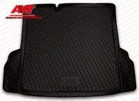 Trunk mats for Chevrolet Cobalt 2013 sedan 1 pcs rubber rugs non slip rubber interior car styling accessories