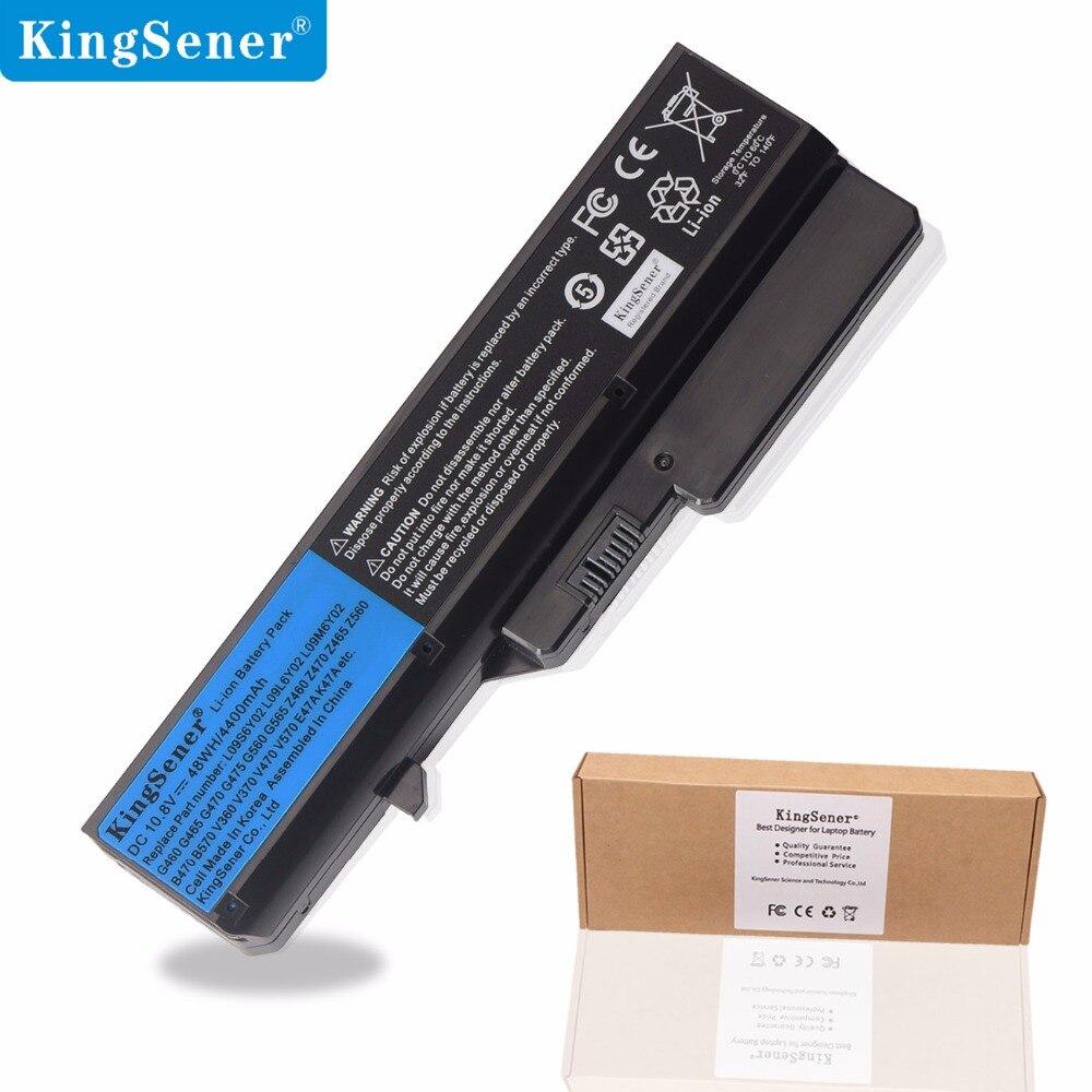 KingSener New L09S6Y02 Laptop Battery for Lenovo IdeaPad G460 G470 G570 G560 V360 V370 V470 Z460 Z465 B470 B570 L09L6Y02 4400mAh apexway battery for lenovo ideapad b470 b475 b570 z370 z570 z565 z470 v360 v370 v470 v570 z460 z560 57y6454 57y6455 l09s6y02