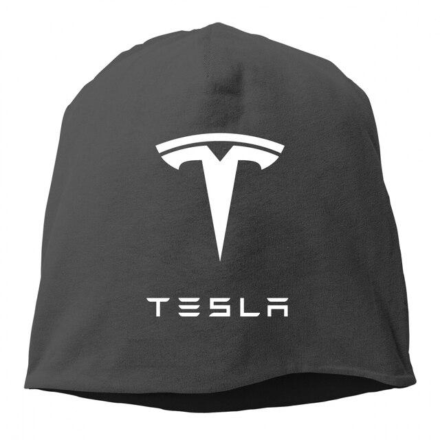 94577d8d New Tesla Thin Hedging Cap Men Women Beanie Knitted Winter Autumn Cap  Hip-hop Slouch hats skullies chapeu feminino