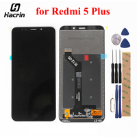 For Xiaomi Redmi 5 Plus LCD Display Touch Screen 100 New FHD 5 99 Digitizer Assembly