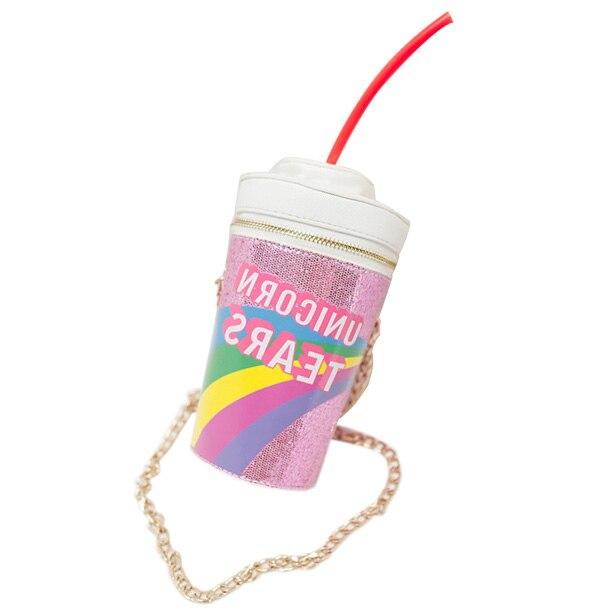TFTP 2017 new fashion design personalized drink soda bottles modeling Skinny Dip Novelty Bag Shoulder Bag Handbag