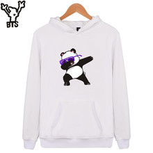 BTS Animal Dog Print Sweatshirt Hoodies Men and women Hip Hop Funny Autumn Streetwear Hoodies Sweatshirt For Couples Clothes