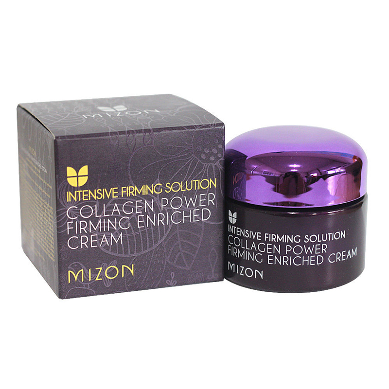 MIZON Collagen Firming Enriched Cream 50ml Facial Cream Skin Care Moisturizing Anti-aging Face Lifting Firming Korean Cosmetics mizon collagen power lifting cream 75ml face skin care whitening moisturizing anti aging anti wrinkle korean facial cream